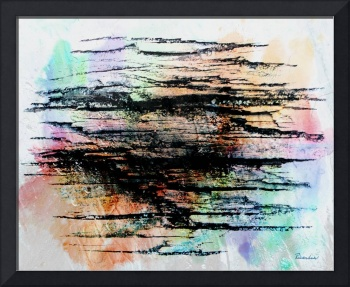 2d Abstract Expressionism Digital Painting