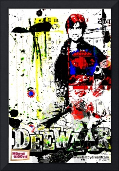 Retro Bollywood Poster - Tribute to Deewar