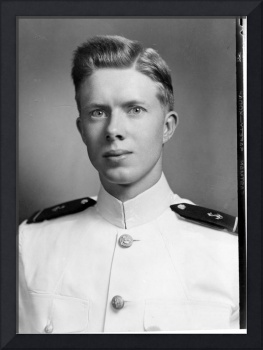 Midshipman James Earl Carter Jr., photographed at