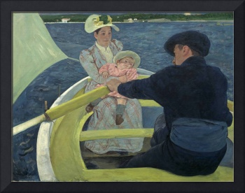 Mary Cassatt~The Boating Party