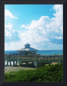 Juno Beach Pier Treasure Coast Florida Seascape C6