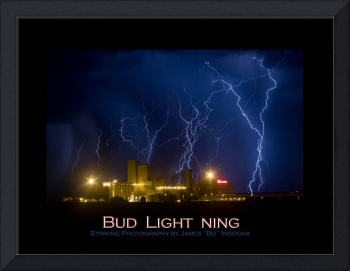 Bud Light Ning Fine Art Poster