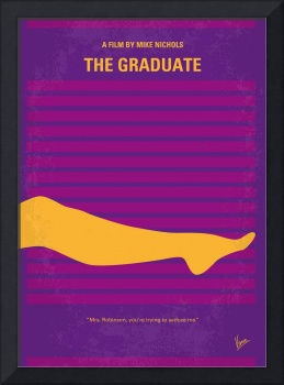 No135 My THE GRADUATE minimal movie poster