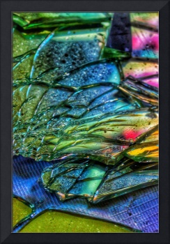 Layers of Broken Glass and Colours, Edit D