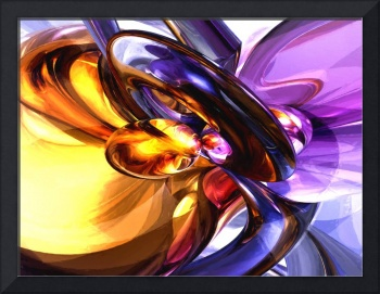 Alluring Grace Painted Abstract