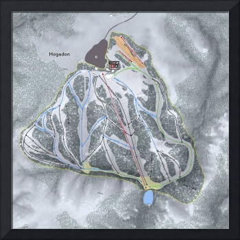 Hogadon Resort Trail Map
