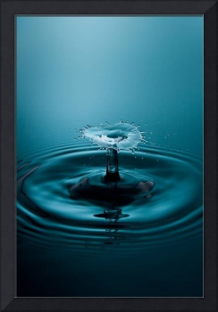 Fine Art Water Drop Photography - Collision