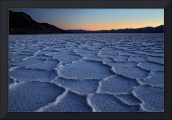 Bad Water salt flats in Death valley National park