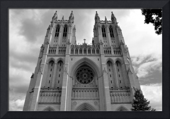 National Cathedral I B&W
