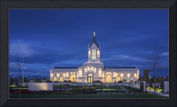 Ft Collins Temple Sunrise #2 by Kelly Jones
