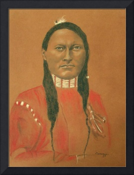 CHEYENNE SCOUT, RED SLEEVE, 1879 (Native American)