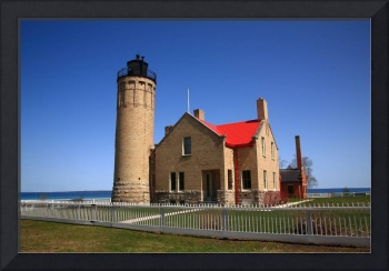 Lighthouse - Mackinac Point, Michigan
