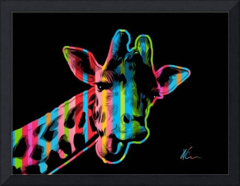 Giraffe - Pop Art
