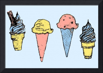 think of england - ice creams