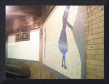 Alice in the 50th Street Station