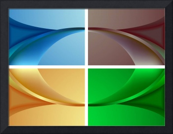 wavy colored backgrounds
