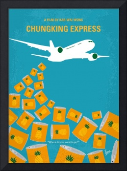 No835 My Chungking Express minimal movie poster