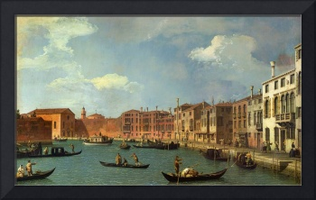 View of the Canal of Santa Chiara, by Canaletto