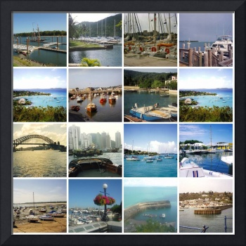 Harbours and Marinas Mosaic