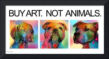 Buy Art Not Animals