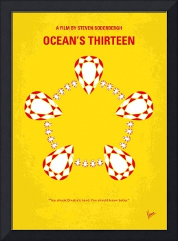 No706 My Oceans 13 minimal movie poster