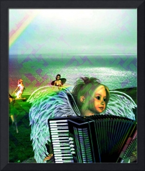 Irish Accordion Angel