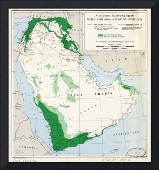 Arab states (excluding Egypt), tribes and administ