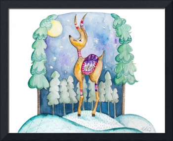 Woodland Joy Reindeer