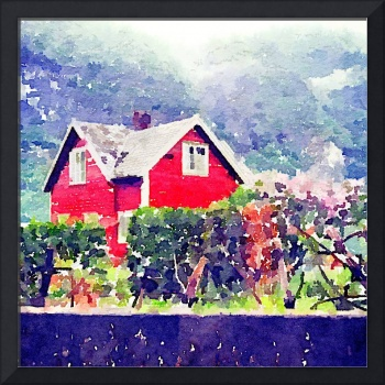 Red Flåm House, Norway