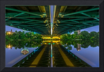 Hennepin Ave Bridge abstract