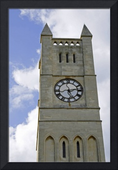 The Clock Tower of Shanklin United Reformed Church