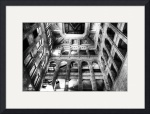 Historic Minneapolis City Hall and Courthouse BW 3 by Wayne Moran
