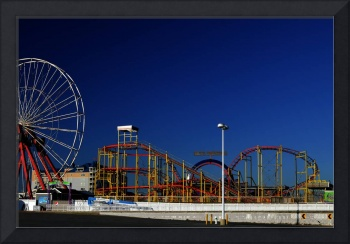 Deserted Amusement Pier in Ocean City Maryland