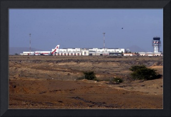 Sal Airport View from the 'Desert'