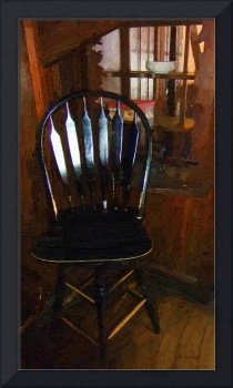 Hitchcock Chair in the Corner
