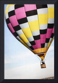 Hot Air Balloon with a Checkered Past