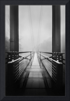 Foot Bridge in the Mist