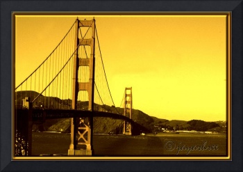 GG Bridge @ Golden Hour