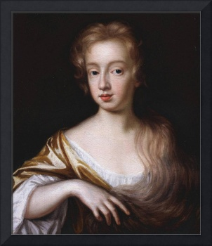 Mary Beale (1632 - 1699),An Unknown Young Lady