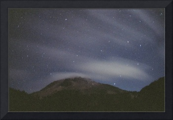 Mt. Lassen Night Clouds