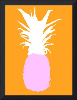 Pineapple purple white orange (c)