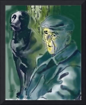 Old and dog