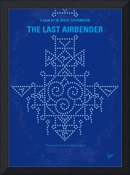 No764 My The Last Airbender minimal movie poster