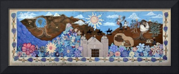 Photograph of City Mural Bernalillo New Mexico