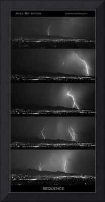 Lightning Sequence BW