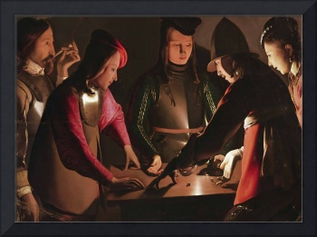Georges de La Tour~The Dice Players