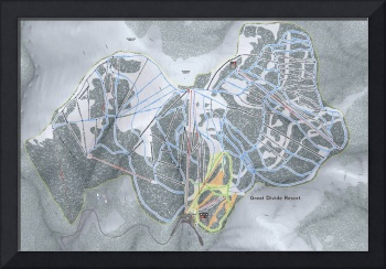 Great Divide Resort Trail Map
