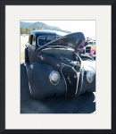 Gun Metal Gray 1938 Ford Deluxe V-8 8997 by Jacque Alameddine