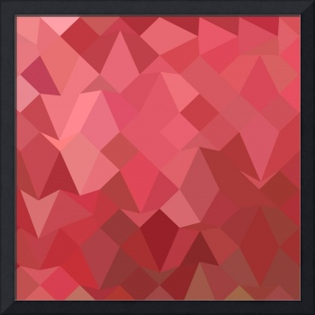 Fandango Pink Abstract Low Polygon Background