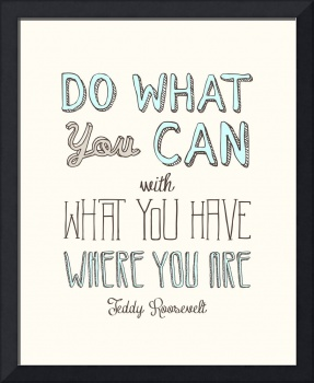 Do What You Can • Multi A